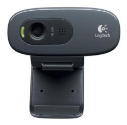 Logitech C270 HD Webcam in Grey