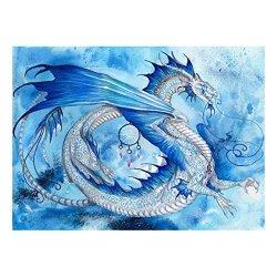 Hosport 5D Diamond Painting Dragon Skies 5D Diamond Diy Painting Craft Home Decor
