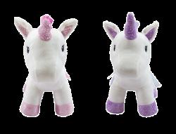 26CM Plush Unicorn With Ribbon Tail