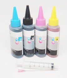Opt Brand Uv Resistant Bulk Refill Ink For Brother Non-oem LC71 LC75 LC79 Refillable Ink Cartridges Ciss Or Cis : Brother All-in-one Series: MFC-J280W