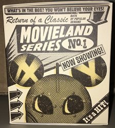 Disney Parks Movieland Series Number 1 Vinylmation Blind Box Toy Figure