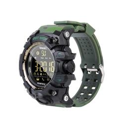 EX16S Sports Smart Watch IP67 Waterproof Outdoor Bluetooth Remote Pedemeter Long Standby