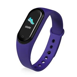 KM5 0.96INCH Color Screen Phone Smart Watch IP68 Waterproof Support Bluetooth Call bluetooth Music heart Rate Monitoring blood Pressure Monitoring Purple