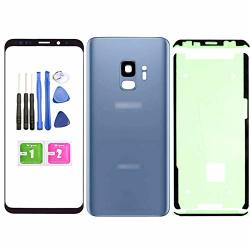 Compatible Ubrokeifixit Front Outer Lens Glass Screen Rear Panel Back Cover Replacement For Samsung Galaxy S9 5.8 SM-G960 All Ph