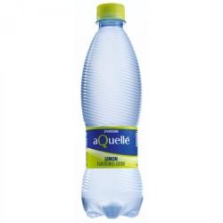 Aquelle Sparkling Water Lemon Plastic Bottle 500ml