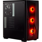 Corsair Carbide Series Spec-delta Rgb Tempered Glass Mid-tower Atx Gaming Case Black