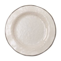 Tag - Veranda Melamine Salad Plate Durable Bpa-free And Great For Outdoor Or Casual Meals Ivory Set Of 4