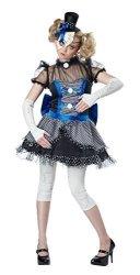California Costumes Women's Twisted Baby Doll Costume Blue black Medium