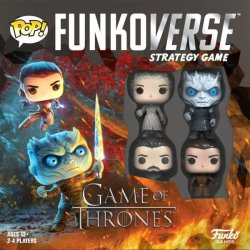 Funko Games Funko Pop Funkoverse Strategy Game - Game Of Thrones Base Game Board Game