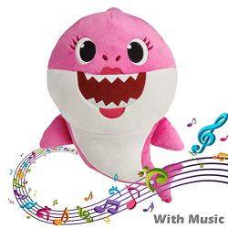 Magneticspace Baby Shark Official Singing Plush Toys 1 Full Song Baby Children's Gift Mommy Shark