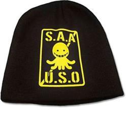 Great Eastern Entertainment Assassination Classroom S.a.a.u.s.o. Logo Headwear Yellow