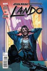 Marvel Comics Star Wars Lando 1 Of 5 Comic Book