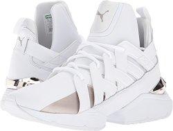 Puma North America-Women s Puma Women s Muse Echo Ep Sneakers White White 9  B M Us 39e643d211