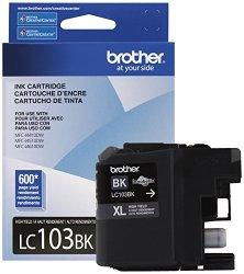 Brother LC103BK Innobella High-yield Ink Cartridge Black