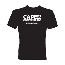 Cape Coffee Beans T-Shirt - Drinkitblack - Small
