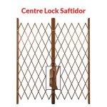 Centre Lock Saftidor - Bronze - Bronze 3200MM - 3900MM Width