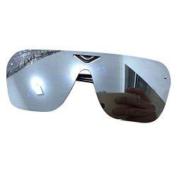 Zando Men's New Fashion Coating Outdoor Custom Sunglasses Eyewear White