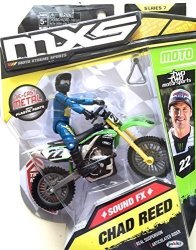 Mxs Motocross Sound Fx Bike & Rider Series 7 - 22 Chad Reed By Mxs Motocross