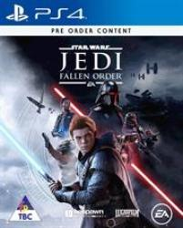 Sony Game - Star Wars Jedi Fallen Order Retail Box No Warranty On Software Product Overview A Galaxy-spanning Adventure Awaits In Star Wars