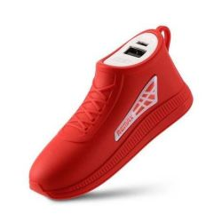 Remax Running Shoe 2500mAh Power Bank in Red