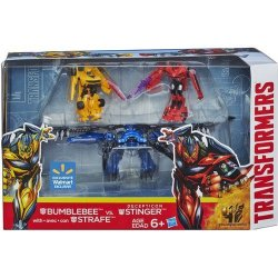 SportsMarket Transformers 4 Age Of Extinction Exclusive Action Figure 3-PACK Bumblebee & Strafe Vs Decepticon Stinger