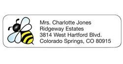 WalterDrake Personal Design Labels Bumblebee