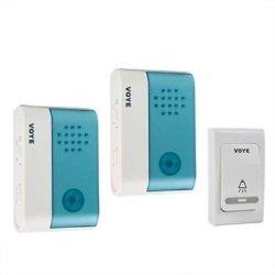 New Wireless Door Bell - 1 Remote Control 2 Wireless Digital Receiver Doorbell