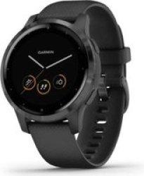 Garmin Vivoactive 4S Smartwatch Black slate
