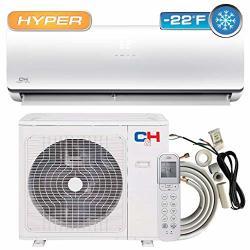 Cooper And Hunter Hyper Heat 18 000 Btu 20 Seer Ductless Mini-split Air Conditioners -22F Heat Pump Dakota Series With Installat