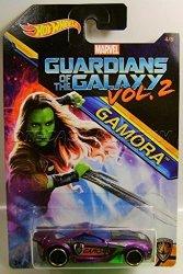 Gamora Marvel Hotwheels Hot Wheels 2017 Guardians Of The Galaxy Vol. 2 Gamora 4 8 1:64 Diecast