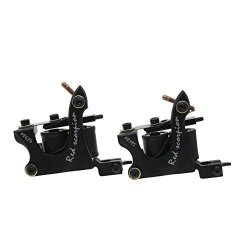 Redscorpion Coil Tattoo Machine Gun Set For Liner And Shader Alloy Frame Pack Of 2