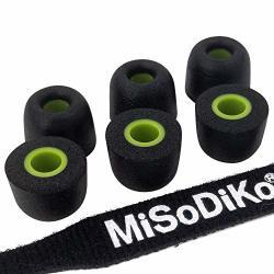 302e545ffac Misodiko Replacement Memory Foam Earbuds Tips - For Jaybird X4 X3 X2 X1 Run  FREEDOM-