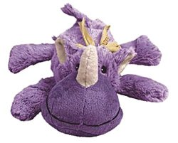 Kong Cozie Rosie The Rhino Medium Dog Toy Purple