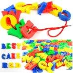 Educational Blocks - Alphabet 120 Pieces