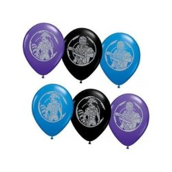 """Qualatex Guardians Of The Galaxy 11"""" Latex Balloons - Package Of 12"""