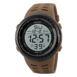 Mens Military Sport Waterproof Watch Alarm Stopwatch