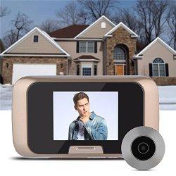 "Door Viewer Camera 2.8"" Lcd HD Visual Video Digital Doorbell Peephole Viewer MINI Reliable Home Security System Video Games Door Viewer"