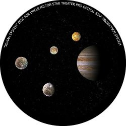 """Kweller Jovian System"""" Disc For Uncle Milton Star Theater Pro Home Planetarium"""