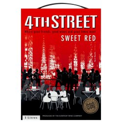 4TH Street - Sweet Red Wine 3L