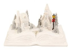 Snow Village with Rocking SeesawLighted Christmas Village Decor