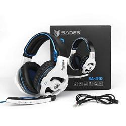 Sades PC PS4 Xbox One Gaming Headsets 810W 3.5MM Over The Ear Gaming Headphones With MIC Volume Control
