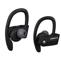 Volkano Sprint True Wireless Bluetooth Sport In-ear Earbuds - Black