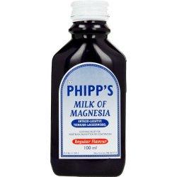Phipps Milk Of Magnesia Regular 1 X 100ml