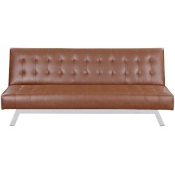 FURNITURE - Bella Sleeper Couch Brown