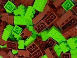 Bricks & Pieces Eco Bricks 1KG Bag