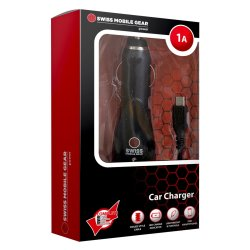 SWISS - 1AMP Lightning Car Charger