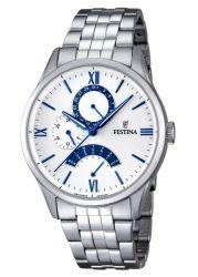Festina Retro Classic Stainless Steel Analogue Men's Wrist Watch F16822-5
