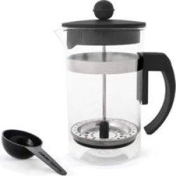 Eetrite 600ml Coffee Plunger in Black
