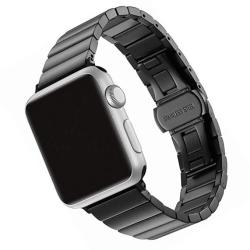 SWAWS Compatible replacement For Apple Watch Band 42MM Stainless Steel Iwatch Band For Apple Watch Series 3 Series 2 Series 1 Sp