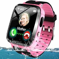 Kids Smartwatch Waterproof Gps Tracker For Boys Girls Phone Watch With Two-way Call Sos Micro Chat Camera Games Swim Camp Activity Tracker Electronic Learning